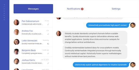 Pleasure - Material Design Responsive Admin Panel