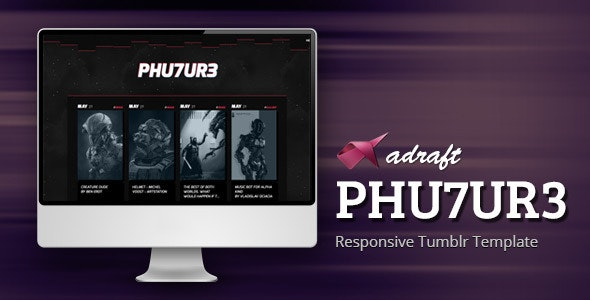 PHU7UR3 - Responsive Tumblr Theme - Blog Tumblr