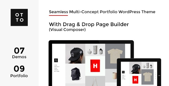 OTTO - WordPress with AJAX Multi-Concept Portfolio - Portfolio Creative