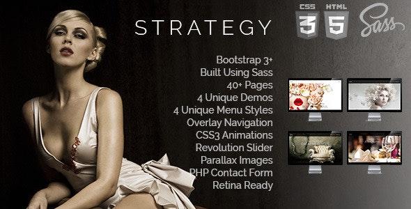 Strategy Multi Purpose Responsive Templates - Portfolio Creative