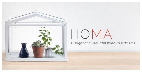 Homa - Elegant WordPress Theme - Creative WordPress