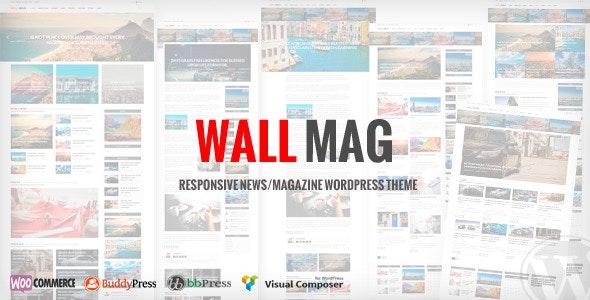 WallMag - Responsive News/Magazine WordPress Theme - News / Editorial Blog / Magazine