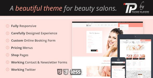 Looks Good - Beauty Salon Template