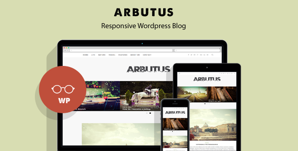 Arbutus - Responsive WordPress Blog Theme - Personal Blog / Magazine