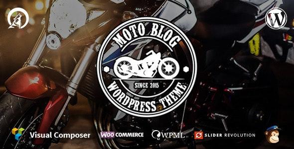 Motoblog - A WordPress Theme for Motorcycle Lovers - Miscellaneous WordPress