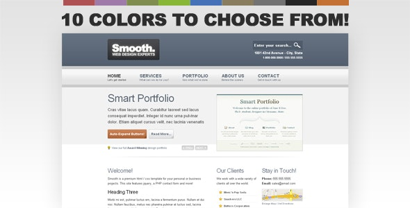 Smooth Business Template - Business Corporate