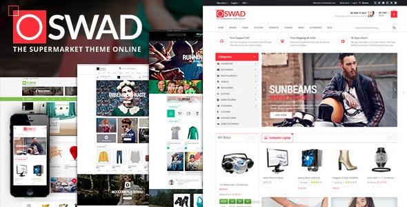 Supermarket Magento Theme - Oswad - Shopping Magento