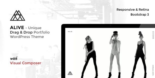 ALIVE - Responsive WordPress Portfolio Theme - Portfolio Creative