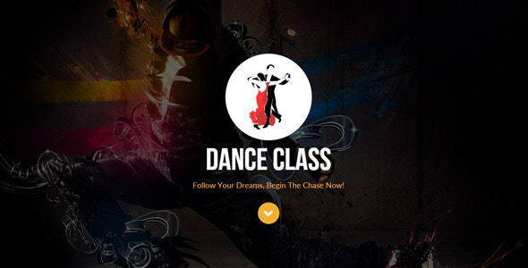 Dance Class Muse Template - Creative Muse Templates