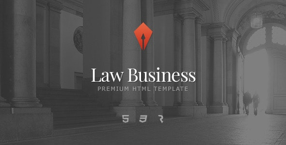 Law Business - Attorney & Lawyer HTML5 Template - Business Corporate