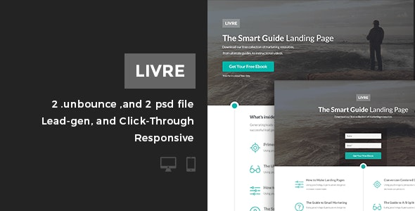 Livre | Business Unbounce Page - Unbounce Landing Pages Marketing
