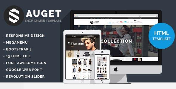 Sauget - Fashion Electronics Store HTML Template