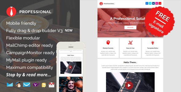 Professional, E-mail Newsletter Pack - Newsletters Email Templates