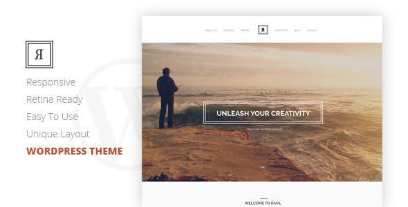 Rival - One Page Multi-Purpose WordPress Theme