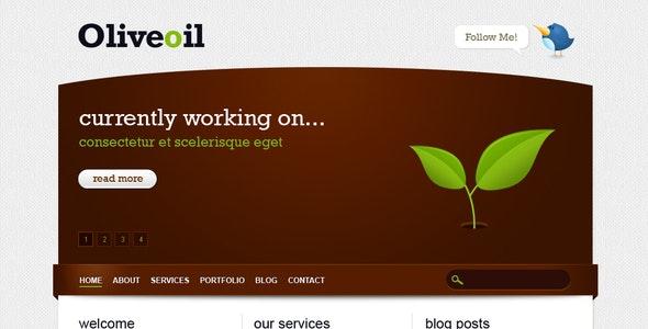 Oliveoil - Simple Portfolio Template - Portfolio Creative