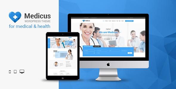 Medicus - Clinic & Medical WordPress Theme - Health & Beauty Retail
