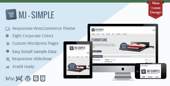 MJ Simple - Responsive WooCommerce theme - WooCommerce eCommerce