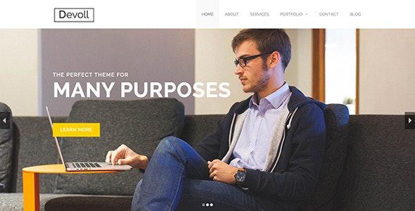 Devoll - Multi-Purpose HTML Theme - Corporate Site Templates