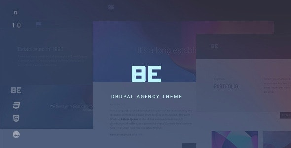 Be - Creative Multipurpose Agency Theme - Portfolio Creative