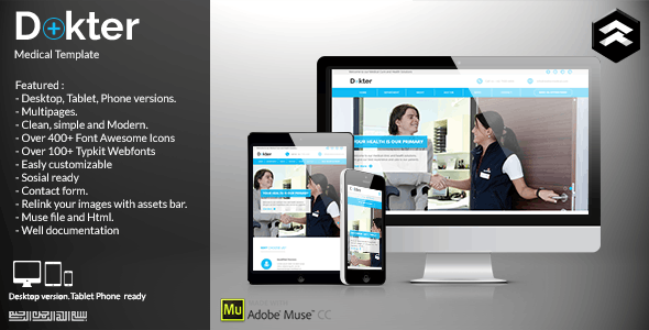 Dokter - Medical Muse Template
