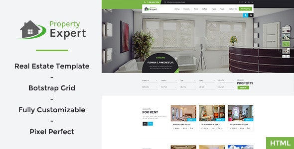 Property Expert - Real Estate HTML Template - Business Corporate