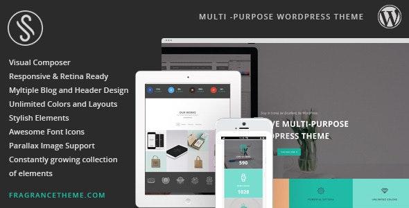 Sarah | Responsive Multi-Purpose Theme - Creative WordPress
