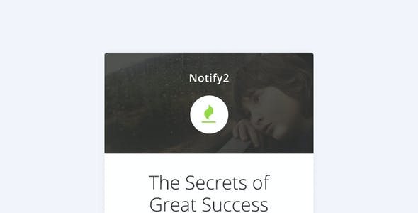 Notify2 - Notification Email + Themebuilder Access