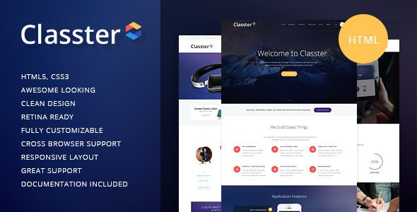 Classter   Multi-Purpose HTML Theme - Corporate Site Templates