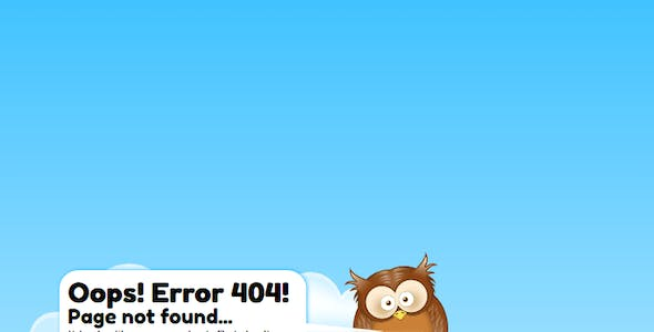 Road Indicator - 404 Error Page Template