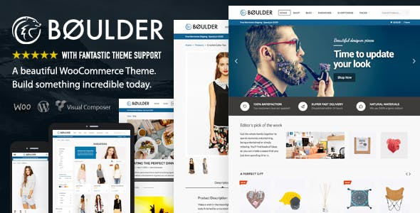 Boulder - Multi-Purpose WooCommerce Theme