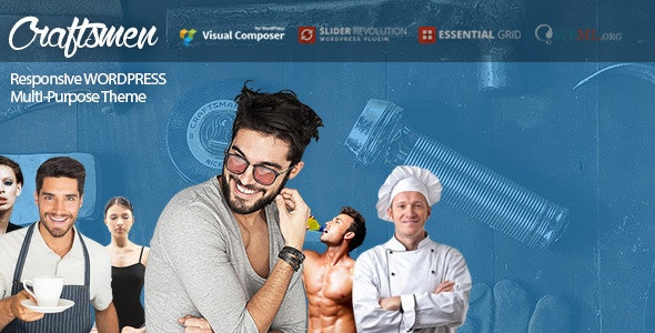 Craftsmen: WordPress Theme for Every Business - Business Corporate