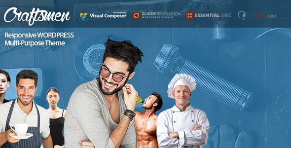 Craftsmen: WordPress Theme for Every Business