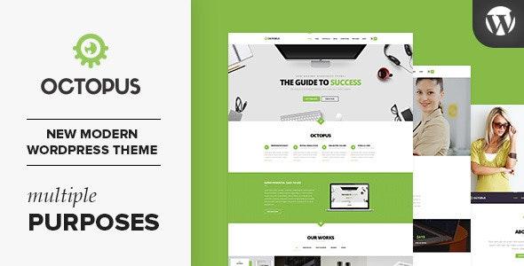 Octopus - Multipurpose Business WordPress Theme - Business Corporate