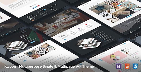 Kwoon - Multipurpose WordPress Theme - Corporate WordPress