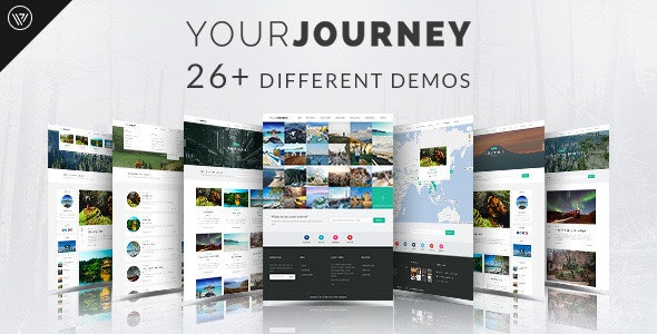 Your Journey - Travel Blog Template - Personal Site Templates