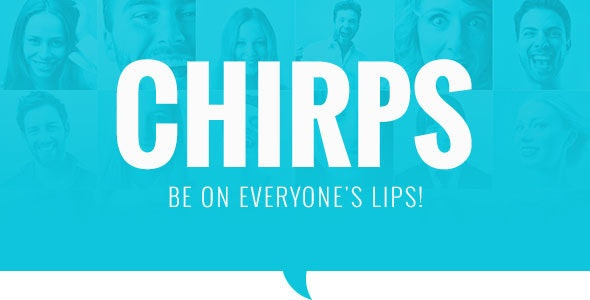 Chirps - Magazine Theme - Blog / Magazine WordPress
