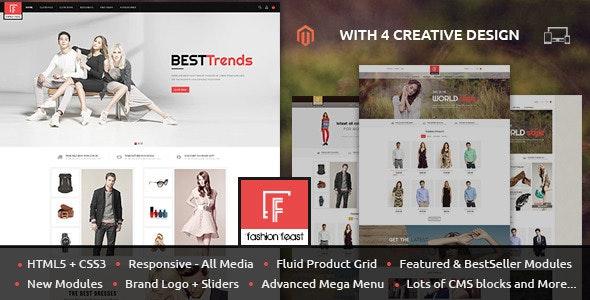Fashion Feast - Magento Responsive Theme - Fashion Magento
