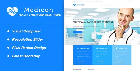 Medicon - Health and Medical WordPress Theme - Health & Beauty Retail