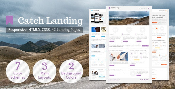 Catch Landing - Landing Pages Marketing