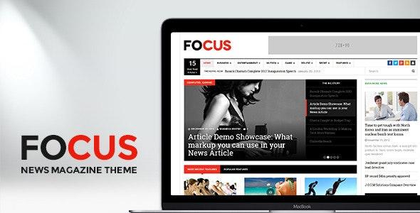 DW Focus - Modern Lightweight News Magazine theme - Blog / Magazine WordPress