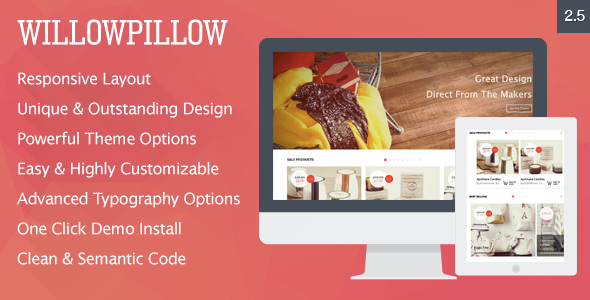 WillowPillow - High Conversion eCommerce Theme - WooCommerce eCommerce