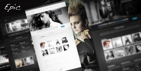 Epic HTML Portfolio Template - Creative Site Templates