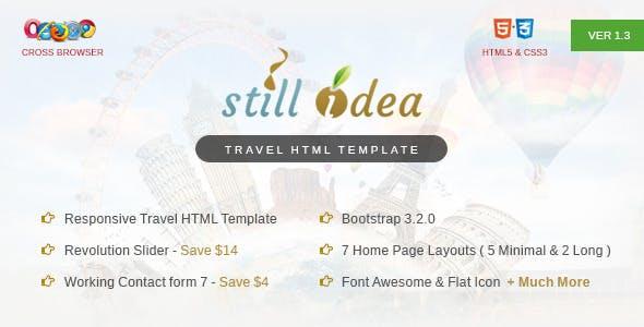 Stillidea - Travel, Clean HTML Template