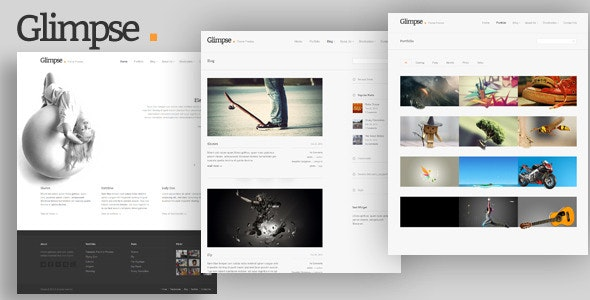 Glimpse  - Blog / Magazine WordPress