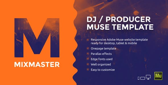 Dj Website Templates From Themeforest