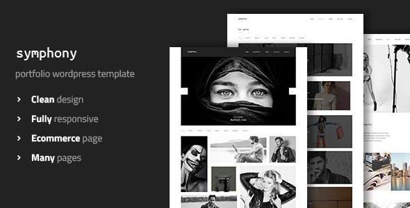 Symphony - Photography Portfolio WordPress Theme