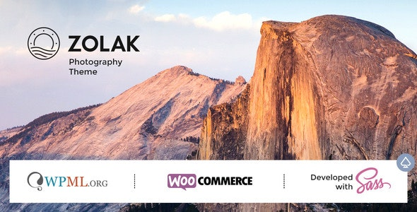 Zolak - Photography Theme - Photography Creative