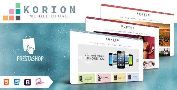 SNS Korion - Responsive Prestashop Theme - PrestaShop eCommerce