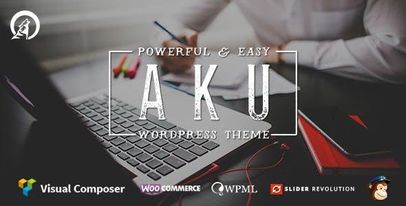 Aku - Powerful Responsive WordPress Theme