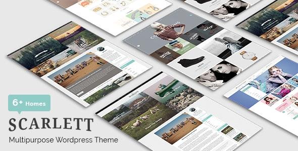 Scarlett - WordPress Blog & Ecommerce Theme - Personal Blog / Magazine
